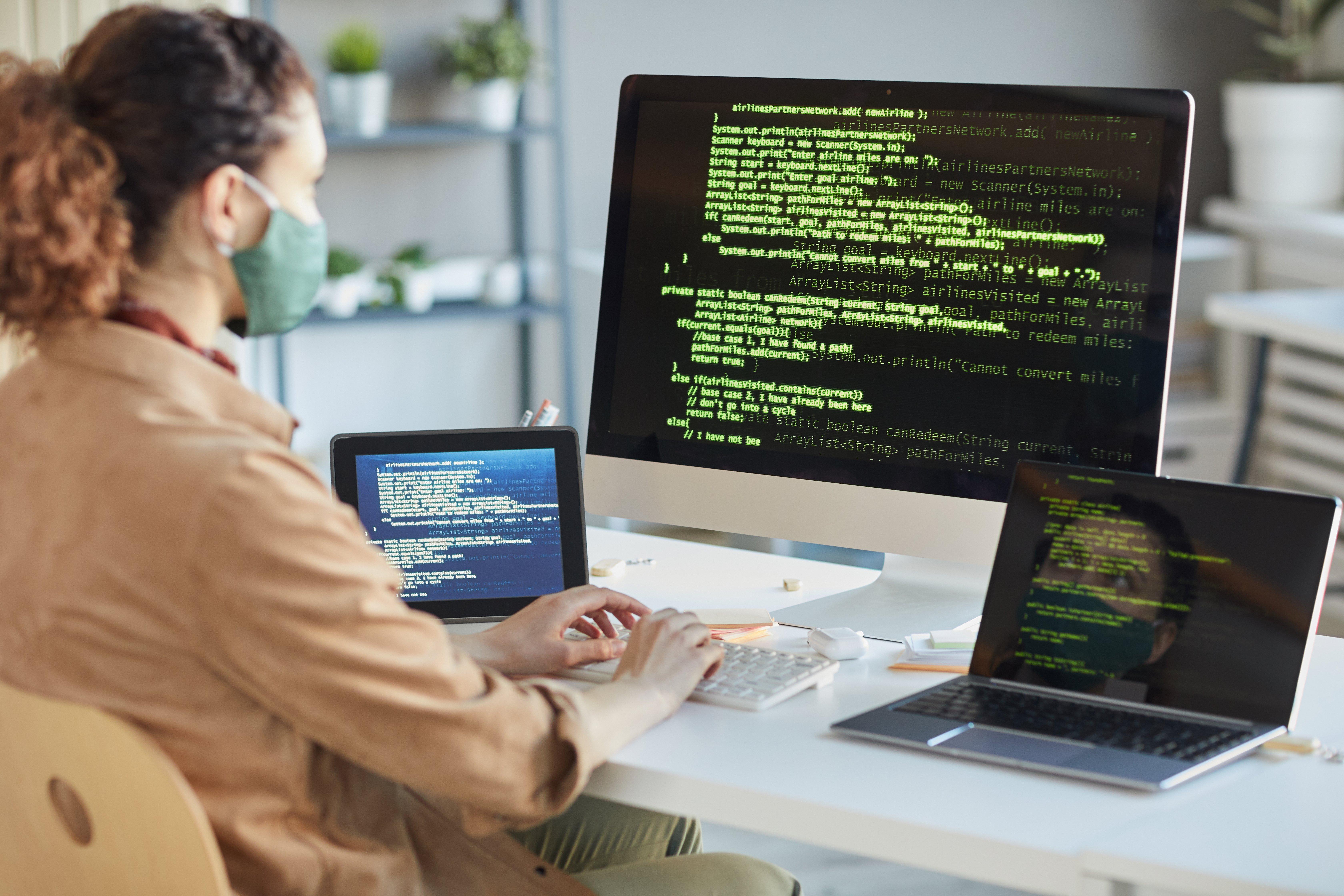 Developer Installing Computer System