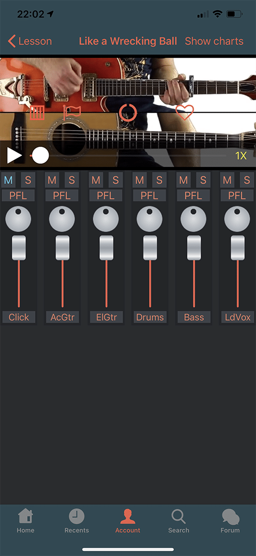 Six String Country App Screen 7
