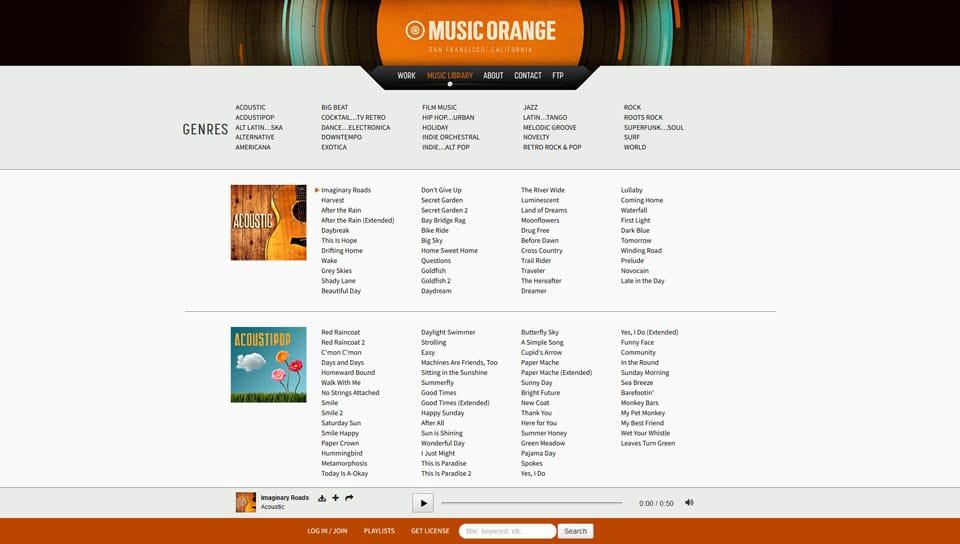 Music Orange Library